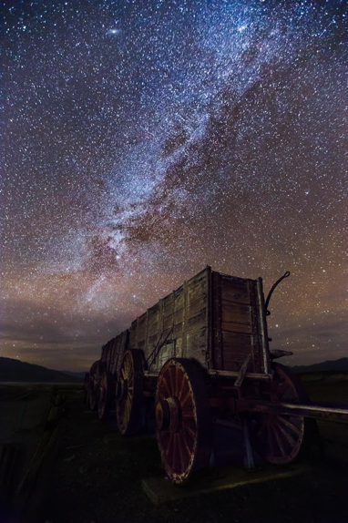 Death Valley, California is the number one place in the US to stargaze. Containing some of the darkest skies in the US, it is recommended to visit during the new moon as it will be darkest. (National Park Service)