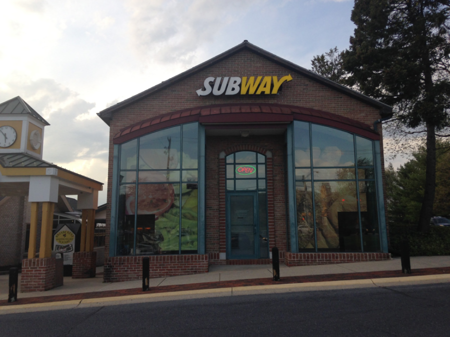 The Subway in Hershey stands within Briarcrest Square on May 4th, 2018. The Subway has been a popular choice for food for both locals and tourists. (Broadcaster/Ryan Zou)