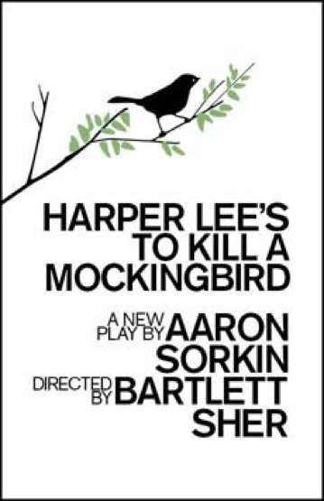 Brand new poster for up and coming play, To Kill a Mockingbird, arriving on broadway this winter. The cast will include Celia Keenan-Bolger, as Scout Finch, and Will Pullen, as Jem Finch. (Broadway.com)