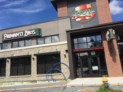 The Pittsburgh-based Primanti Brothers restaurant has another home on Chocolate Avenue. This anticipated restaurant is just one of the many well-known businesses opening up. (Broadcaster/Angelina Memmi)