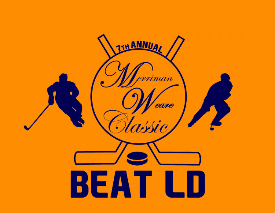 The logo for the shirts being sold for the Merriam Weare classic game is pictured. This is the seventh year the game is being played. (Trojan Trading Post)