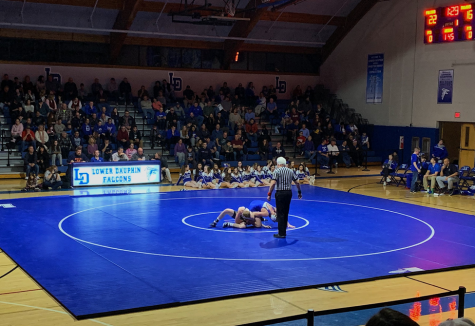 Hershey Trojans Wrestling defeat Mechanicsburg Wildcats