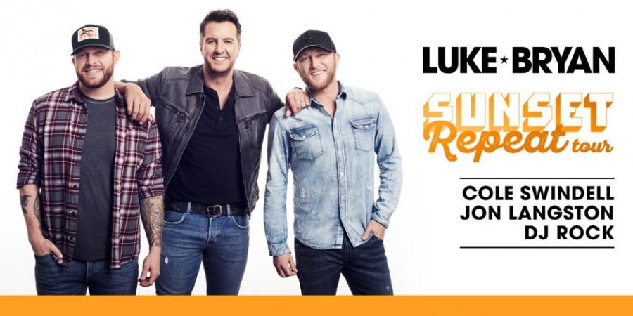 "Luke Bryan announced his 2019 ""Sunset Repeat"" tour January 19, 2019. The tour will come to Hershey on June 6, 2019. (Luke Bryan)"