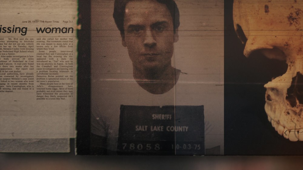 Ted Bundy (pictured) was first arrested in Salt Lake City in August of 1975. He was originally pulled over for his car lights being out and not complying to a police officer. Little did they know, he was responsible for at least 30 homicides. (Netflix)