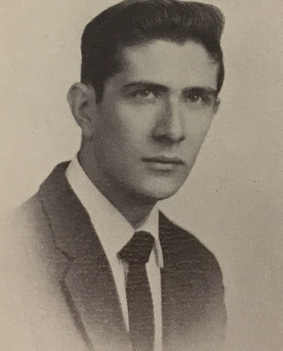 Accorsi poses for his yearbook picture during his senior year in 1959. Even with all the fame Accorsi has achieved over the years he is still a proud and loyal alumni of Hershey High. (Chocolatier)