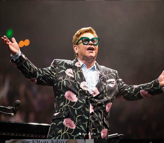 Elton John opens his arms to a sold out stadium in his hometown of Atlanta, Georgia. A limited number of VIP packages will be available for purchase for American Express customers starting at 10 a.m. on November 14, 2019.  (Elton John)
