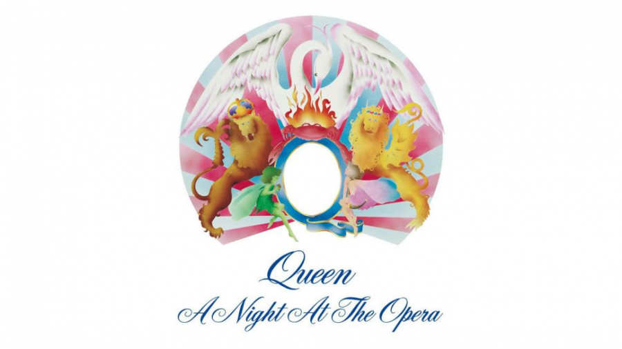 "The cover for Queen's 1975 landmark album ""A Night at the Opera"" is pictured.  The album went on to sell over six million copies and cement Queen's place in music history.  (EMI, Elektra)"