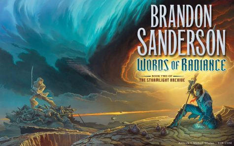 "Pictured is ""Words of Radiance"" which is part of the Stormlight Archive series.  Author Brandon Sanderson is a fantasy and science fiction writer from Utah. (Tor Books)"