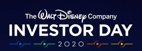 The Walt Disney Company Investor Day 2020 logo is pictured.  Disney executives announced more than 10 Star Wars series and films as a part of their Investor Day presentation.  (Walt Disney Company)